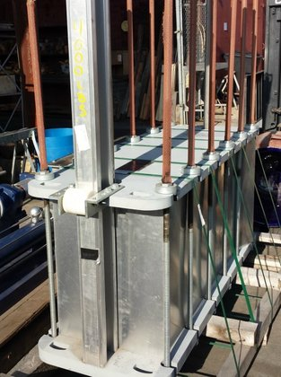 Heat Exchanger, Plate, 2200 SF,