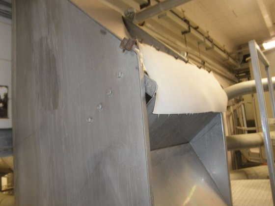 """Screen, Parabolic, 36"""", Dewatering, S/st"""