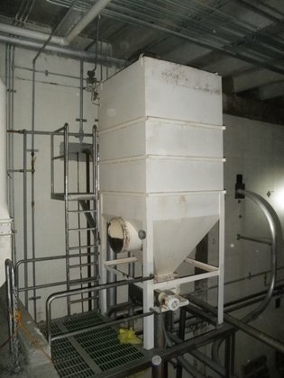 Dust Collector, Baghouse, 5' X