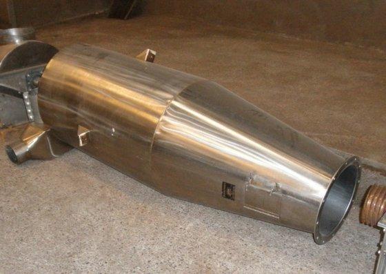 "Idaho Steel Separator, Cyclone, 24"""