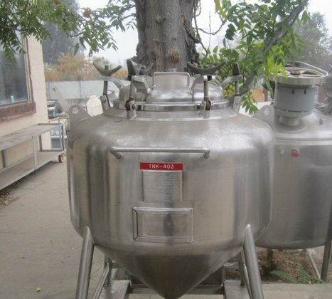Tank, 100 Gallon, 316L S/st,