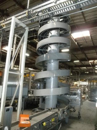 Ryson Conveyor, Spiral, 7 Turns,
