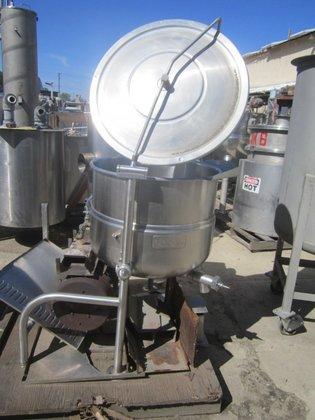 S/st Kettle, 40 Gallon, Jkt,