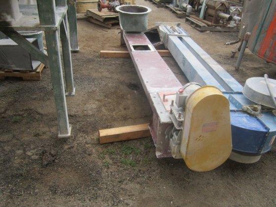 """Conveyor, Screw, 10"""" x 10',"""