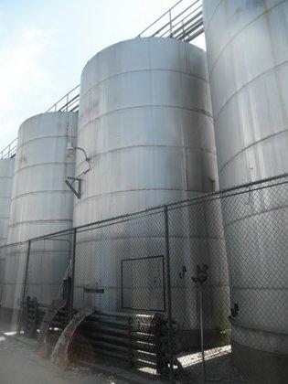 Tank, 49, 000 Gallon, S/st,