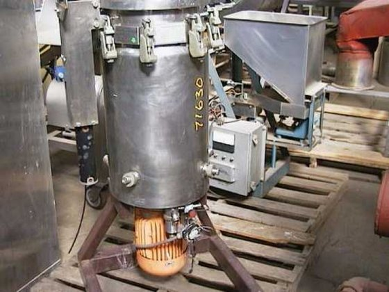 9-3973 Reactor, 15 Gallon, S/st,