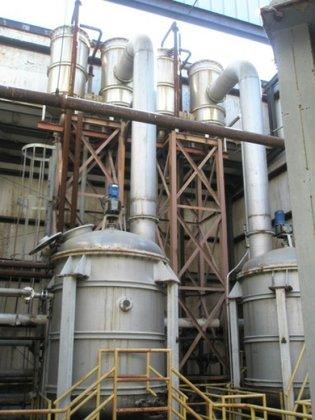 Evaporator, 2, 000 Gallon, Alloy,