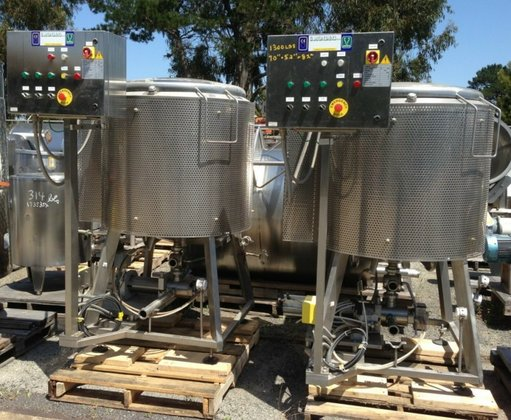 G VS/A Kettle, 150 Gallon,