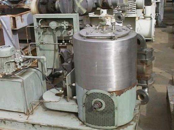 Sharples T-1600H Centrifuge, Basket, Perforate,