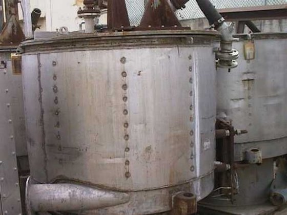 Sharples T-1600H Centrifuge, Basket, Perforate,
