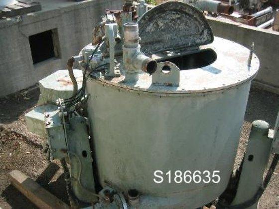 Sharples SP-6500 Centrifuge, Basket, Solid,