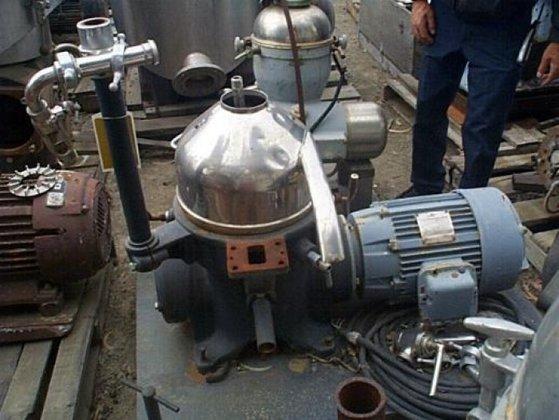 Westfalia KG-2006 Centrifuge, Disc, Batch,