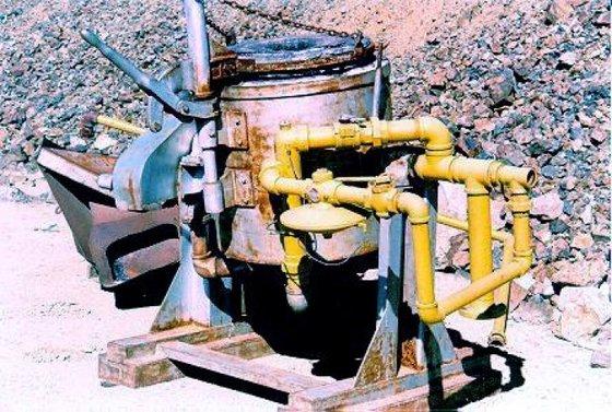 Lindberg Furnace, Tilting, Melting, Gas,