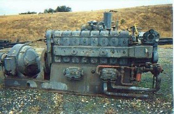 Generator, Diesel, 300 kW, Westinghouse,