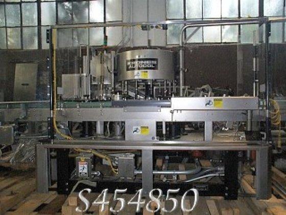 Krones Labeler, Autocol, Pressure Sensitive,