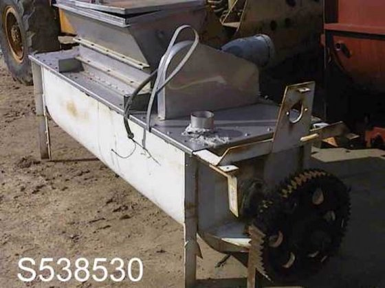 Mixer, Paddle, 25 CF, C/st,