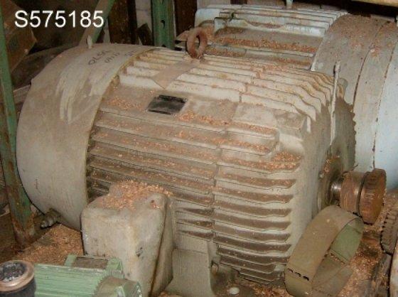 Motor, 125 HP, General Electric,