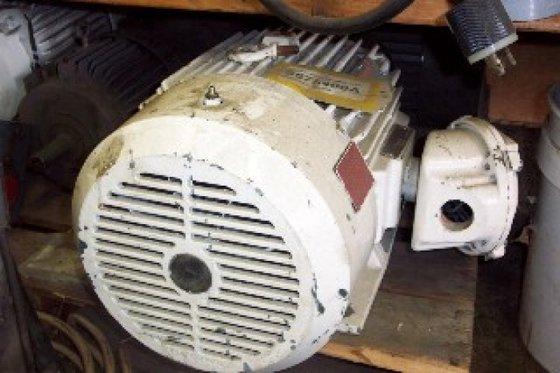 Motor, 20 HP, Reliance, 460V,