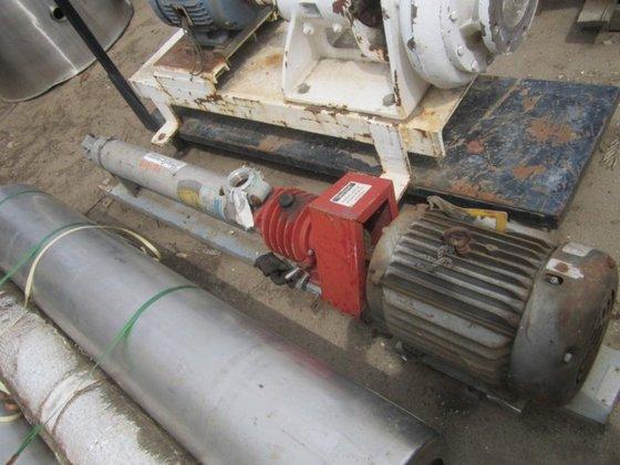 25 HP Pump, Centrif., S/st,