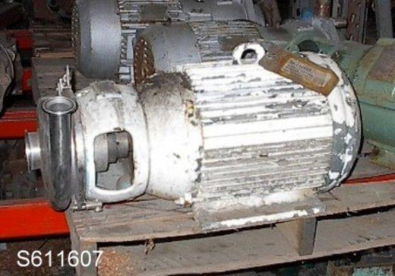 Pump, Centrif., 20 HP, S/st,