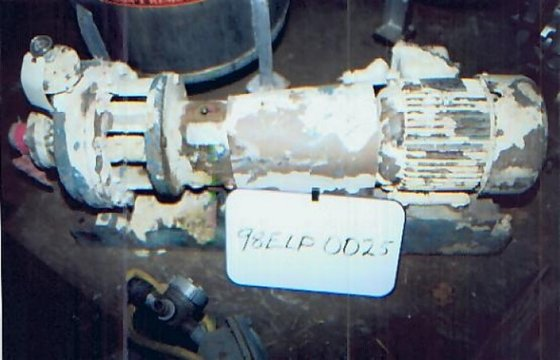 8196 Pump, Centrif., 7.5 HP,