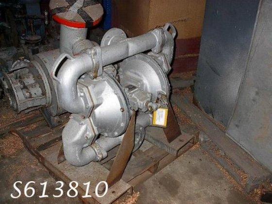 """SA3-A Pump, Diaphragm, 4"""", Alum,"""