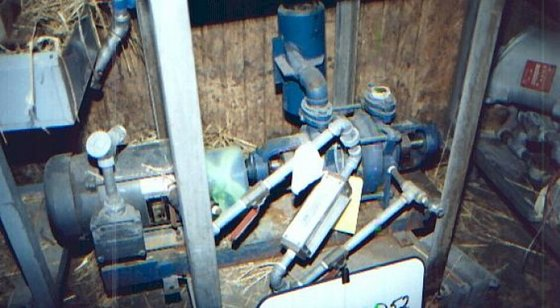 CEH204B2, Pump, Vacuum, 3 HP,