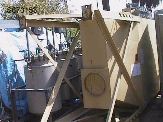 Dust Collector, Baghouse, 2, 550