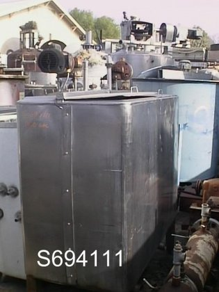 Tank, 280 Gallon, S/st, (2)