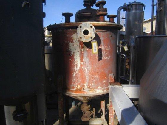 Tank, 140 Gallon, Lead, 3'