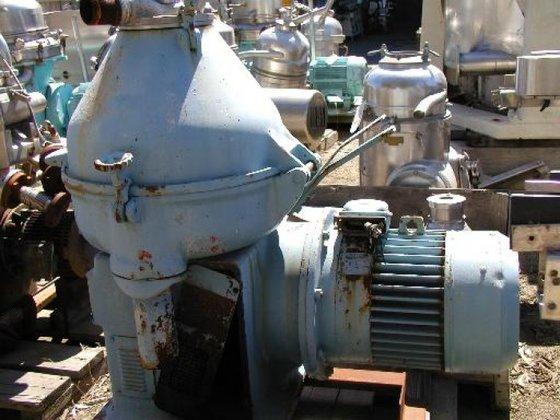 Delaval SFDX-209-34S-60 Centrifuge, Disc, Nozzle,