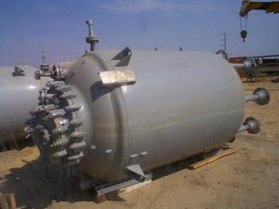 Pfaudler Reactor, 1, 000 Gallon,