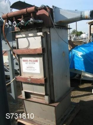 16S-6-30-B Dust Collector, Bin Vent,