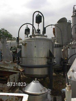 Chemap Tank, 343 Gallon, S/st,