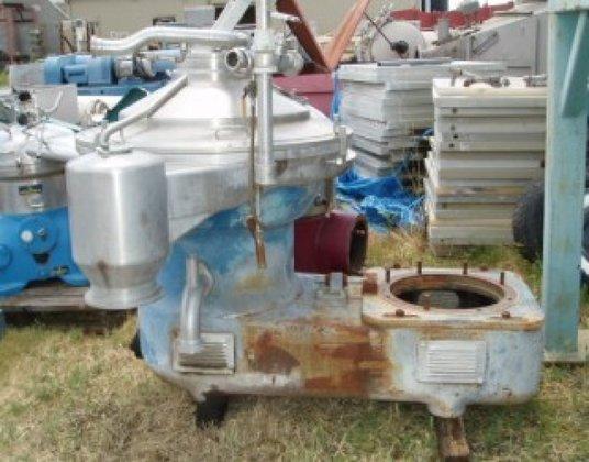 Westfalia SA82-47-177 Centrifuge, Disc, Auto,
