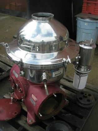 Westfalia SAMR 5036 Centrifuge, Disc,