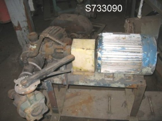 HL4225D Pump, Gear, 5 HP,