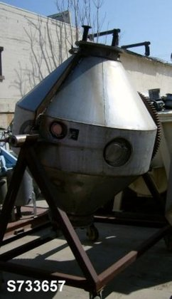 Mixer, Conical, 40 CF, S/st,