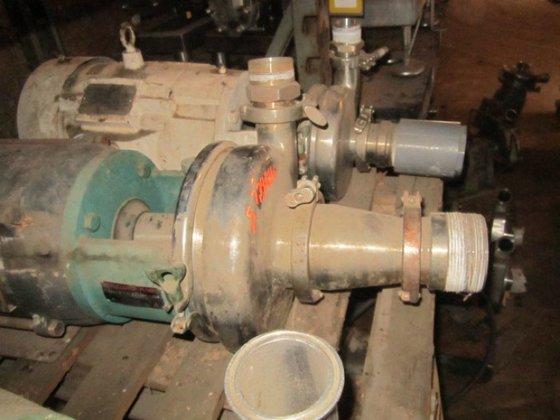 Tri-Clover model C218MD21T-S C218MD21T-S Pump,