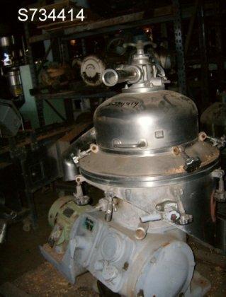 Delaval 207SGV3960/4183 Centrifuge, Disc, Auto,