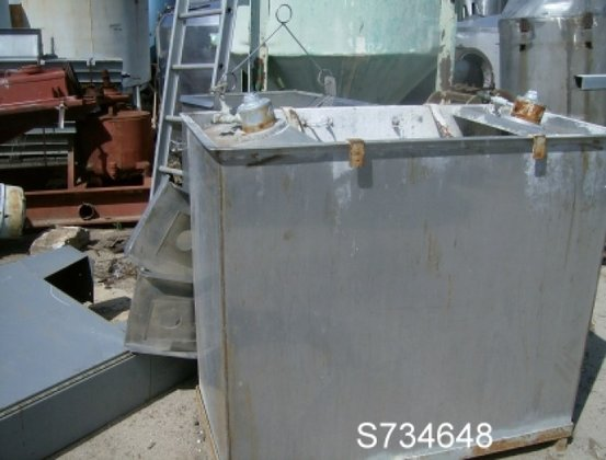 Tank, 125 Gallon, S/st, Rect,