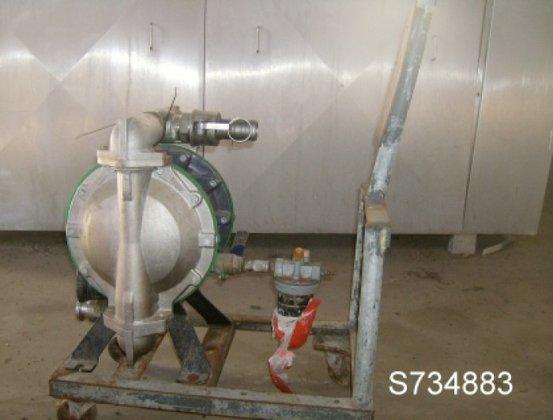"Pump, Diaphragm, 1.5"", S/st in"