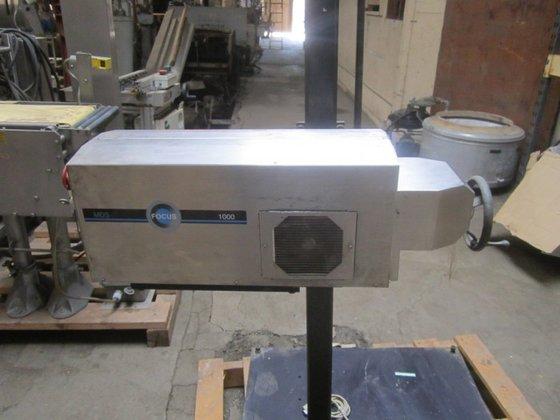 Focus 1000 Printer, Videojet, Laser