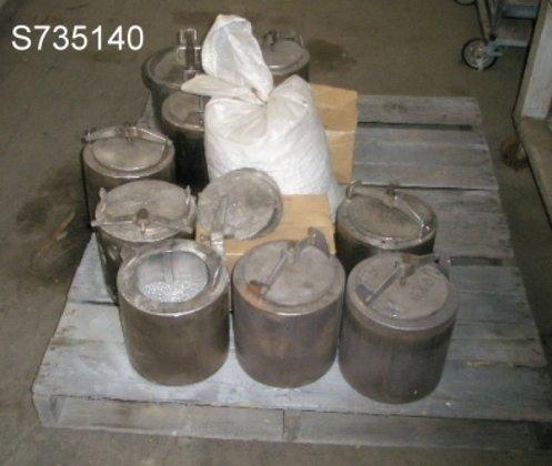 Mill, Jars, (7) 9.5 x