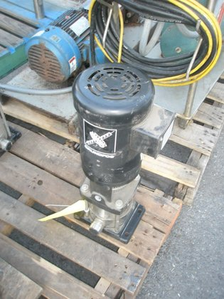 2-50 Pump, Centrif., 1.5 HP,