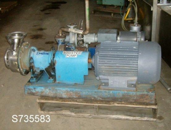 SSH Pump, Centrif., 25 HP,