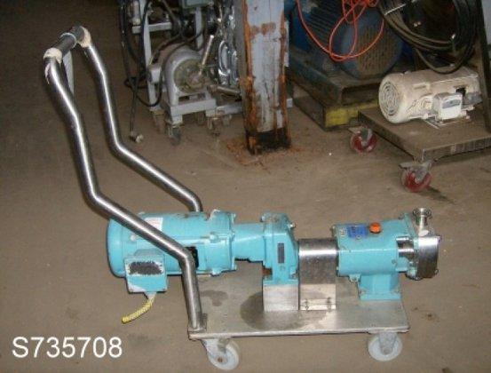 G&H Pump, Positive, Displacement, S/st,