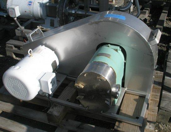 Tri-Clover PR125-3-TC1-4-ST Pump, Positive, 7.5