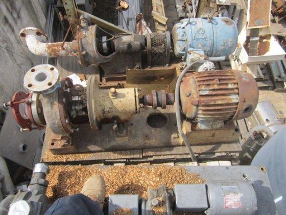 Pump, Centrif., 5 HP, 316