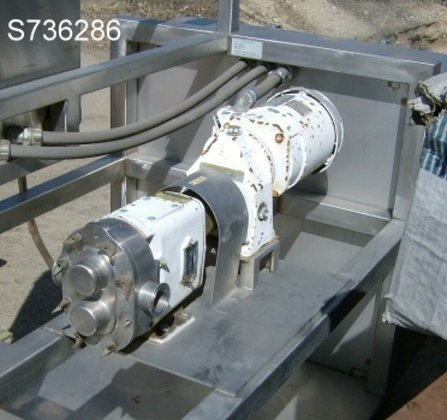 Pump, Positive, Waukesha, Mdl 018,